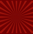 red comics radial speed lines graphic effects vector image vector image