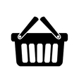 shopping basket icon image vector image