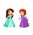 Princess set vector image