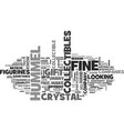 a closer look at fine collectibles text word vector image vector image