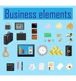 business elements vector image vector image