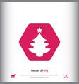 Christmas tree icon sign icon christmas tree