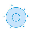 circle icon design vector image vector image