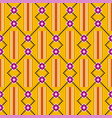 cloth kentegeometric seamless pattern vector image vector image