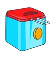 Fryer icon cartoon style vector image vector image