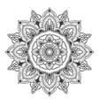 mandala flower for multiple purpose vector image