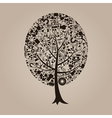 Tree a science vector image vector image