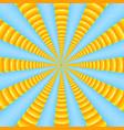abstract sun beams vector image