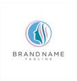 creative women beauty salon spa logo icon vector image vector image