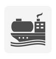 oil gas shipping vector image
