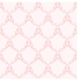 Pink Pattern with curve elements vector image vector image