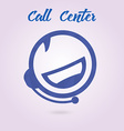 Polygonal icon for call center or hotline support