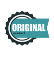 premium quality original product and best label vector image