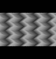 seamless pattern wavy endless gray texture vector image vector image