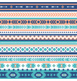 tribal seamless pattern aztec geometric vector image vector image