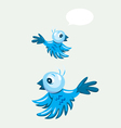 Bird flying vector image vector image
