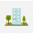 building front design vector image