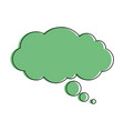 dream cloud isolated icon vector image vector image