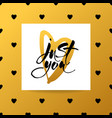 love lettering background vector image vector image