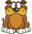 Smiling Dog Cartoon vector image