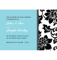 vector floral side pattern and frame vector image vector image