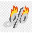 last minute discounts isometric icon vector image