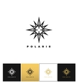 Abstract space star logo icon vector image