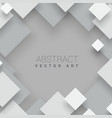 abstract square background white business p vector image vector image