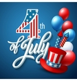American Independence Day Festive vector image