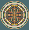 byzantine cross vector image vector image