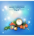 Christmas Celebration Background vector image vector image