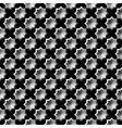 Design seamless monochrome star pattern vector image