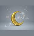eid al-fitr vector image vector image