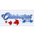 emblem oktoberfest festival 2017 oktoberfest vector image vector image
