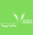 happy easter image modern happy easter vector image vector image