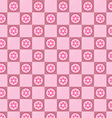 Pink plaid pattern vector image vector image