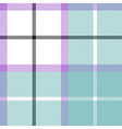 Soft warm plaid baby color seamless pattern fabric vector image vector image