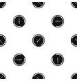 speedometer pattern seamless black vector image vector image