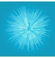 Star blast rays vector image