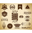 Vintage labels Collection 16 vector image vector image