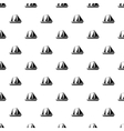 Yacht pattern simple style vector image vector image