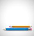 a pencil vector image vector image