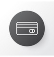 credit card icon symbol premium quality isolated vector image vector image