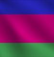 Kuban Peoples Republic flag vector image vector image