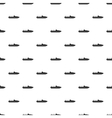 Little powerboat pattern simple style vector image vector image