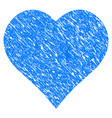 love heart grunge icon vector image vector image