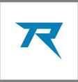 r letter logo business professional logo vector image vector image