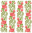 roses wallpaper vector image vector image