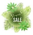 typographic sale vector image vector image