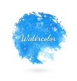 Watercolor style design elements vector image
